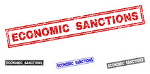 Grunge ECONOMIC SANCTIONS Rect...