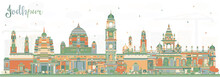 Jodhpur India City Skyline Wit...