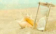 Sand Running Through The Bulbs...