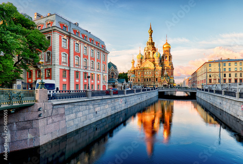 Fotografering  Russia, St. Petersburg - Church Saviour on Spilled Blood