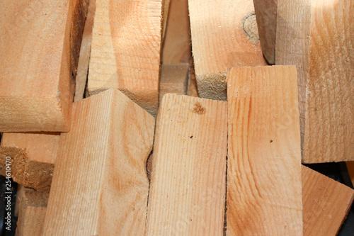 Fototapeta firewood for kindling a fireplace obraz na płótnie