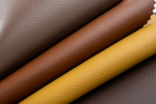 Leather Material Artificial Leather Color Card