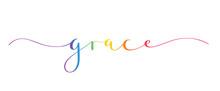 GRACE Brush Calligraphy Banner