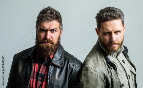 Fényképezés  Men brutal bearded hipster