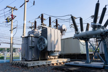 High Voltage Transformer With Power Supply Station