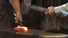 Forge Iron In The Forge On The...