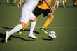 canvas print picture - Fußballspieler Nahaufnahme