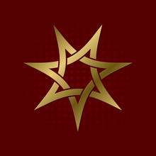 Sacred Geometric Symbol Of Sev...