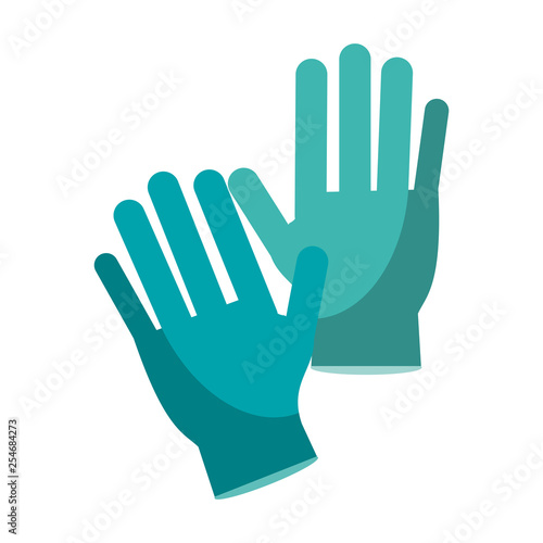 Fotografija  Medical gloves isolated