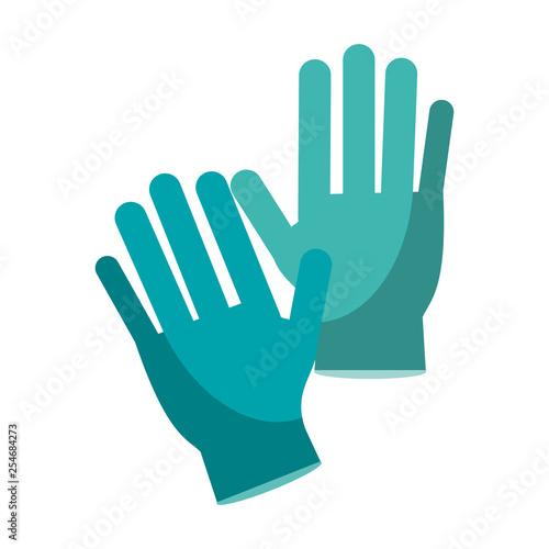 Fotografie, Obraz  Medical gloves isolated