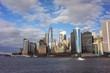 New York City panorama skyline at day