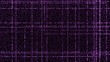 Grid of purple glowing particles