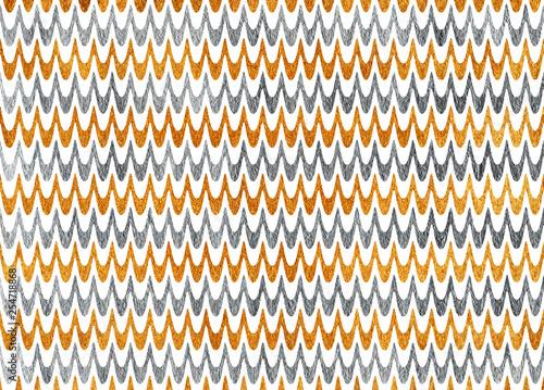 Fotografie, Obraz  Wavy striped background.