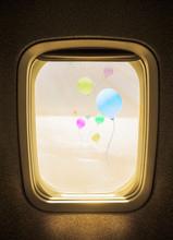 Flight Concept, Colorful Ballo...