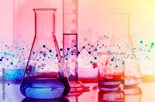 Fotografia  genetica, biologia, esperimento, particelle, molecole,