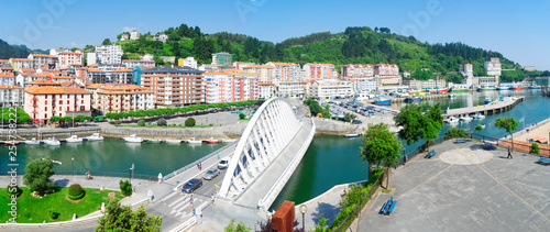 Ondarroa town and port