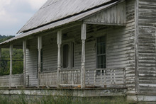 Old Abandoned Farm House In Rural Alabama