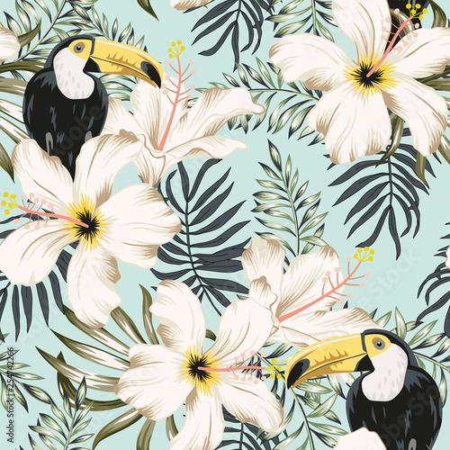 tukany-w-kwiatach-ilustracja-do-powielania-wzorow