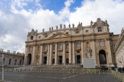 St. Peter's Cathedral in the Vatican Tapéta, Fotótapéta