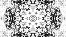 Abstract Background With Silver Kaleidoscope