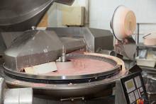 Making Meat Batter In Bowl Chopper