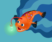 Illustration Of A Deep Sea Spe...