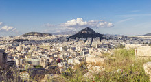 Greece, Athens, View On The Ci...