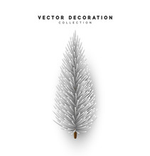 Christmas White Tree