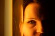 canvas print picture - Porträt einer Frau
