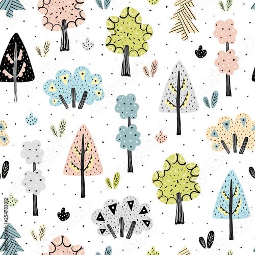 niesamowity-wzor-lasu-w-stylu-skandynawskim-ilustracji-wektorowych