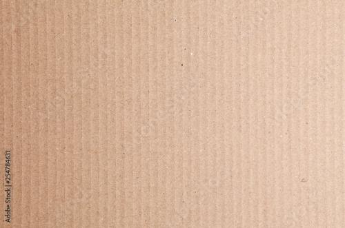 Fotomural Sfondo texture di cartone ondulato avana
