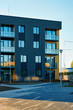 Apartment residential home facade architecture and outdoor facilities