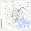 東京の路線図・JR(常磐線)