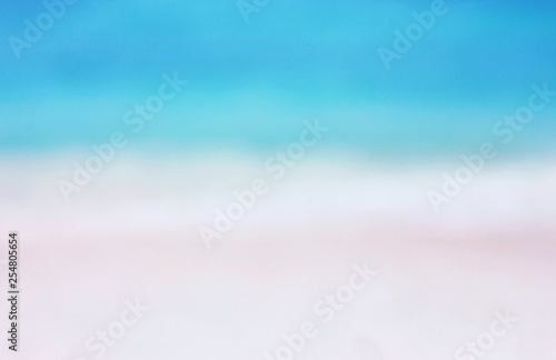 Fototapety, obrazy: Summer background with sea and sand. Tropical landscape