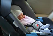 Cute Newborn Baby Sleeping In ...