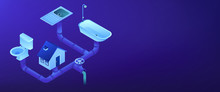 Sewerage System Isometric 3D B...