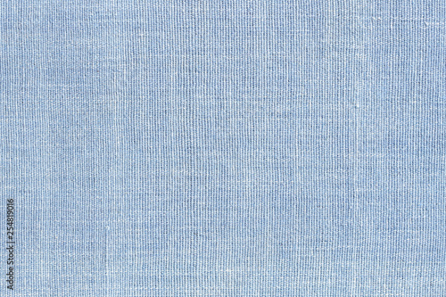 Aluminium Prints Fabric Blue cotton weave farbric texture