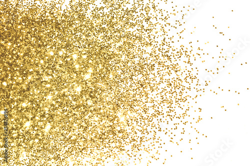 Plakaty kolor złota  background-with-gold-glitter-on-white-background-for-your-design