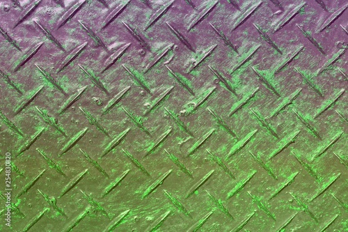 Fotografía  green design antiskid plate texture - pretty abstract photo background