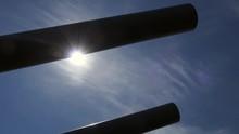 Sun And Guns Of USS Alabama At...