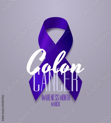 Colon Cancer Awareness Calligraphy Poster Design Realistic Dark Blue Ribbon March Is Cancer Awareness Month Vector Buy This Stock Vector And Explore Similar Vectors At Adobe Stock Adobe Stock