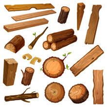 Wooden Chips And Bark, Timber ...