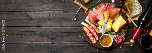 Canvas-taulu Antipasto background