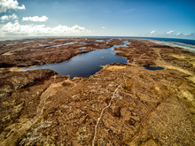 Colorful Norwegian Backwaters And Swamps From Above