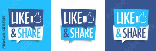 Fotografía  Like and share