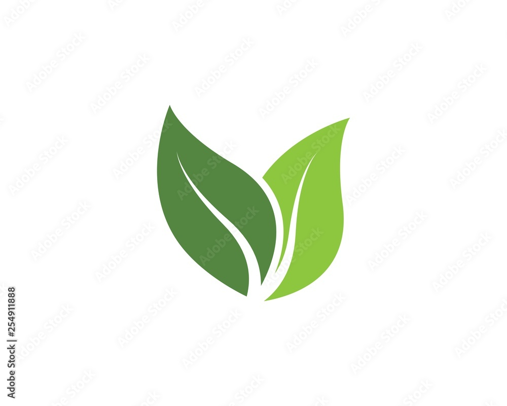 Fototapety, obrazy: green leaf ecology nature vector icon