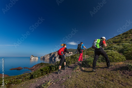 Trekking in Sardegna Wallpaper Mural