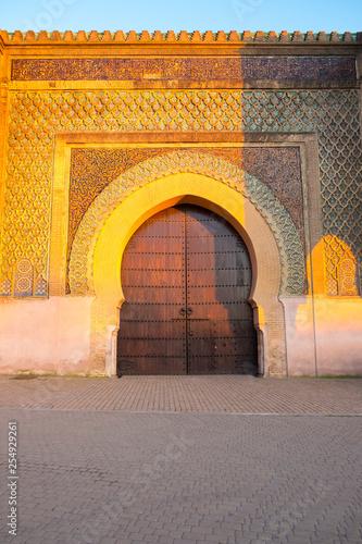 Nobody Bab Mansour Gate Centered Meknes V