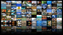 Big Multimedia Video Wall Widescreen Web Streaming Media TV