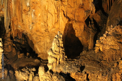 Natural cave of Vranjak Croatia